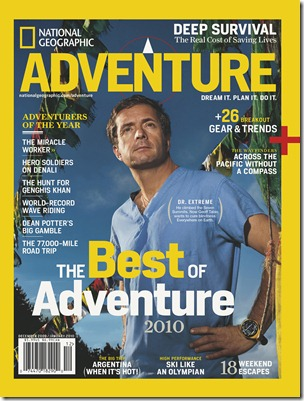 IMAGE IS FOR YOUR ONE-TIME EXCLUSIVE USE ONLY AS A TIE-IN WITH THE DECEMBER/JANUARY 2009 ISSUE OF NATIONAL GEOGRAPHIC ADVENTURE. NO SALES, NO TRANSFERS.  COVER MAY NOT BE CROPPED OR ALTERED IN ANY WAY.  ©2009 National Geographic